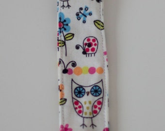 Owl Print Pacifier Holder
