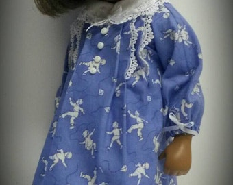 Blue dress for sasha doll