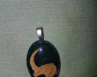 Oval Loki Necklace