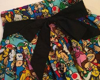 12M-8 Girls' MARIO BROS. Skirt