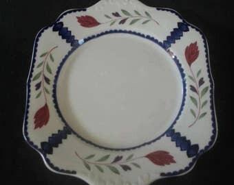 Adams 'Lancaster' Handled Cake Plate