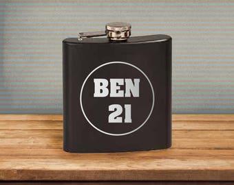 Flask/Birthday/21/21stBirthday/Alcohol/LegalDrink/