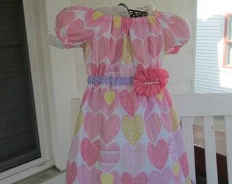 Girls Easter Dress, girls dress, girls spring dress, girls clothing, girls easter outfit,  3T, 4T, 5, 6, 7, 8,