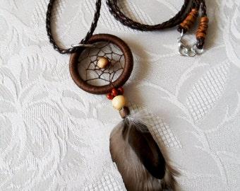 Dream Catcher Necklace - Bohemian Necklace - Bohemian jewelry