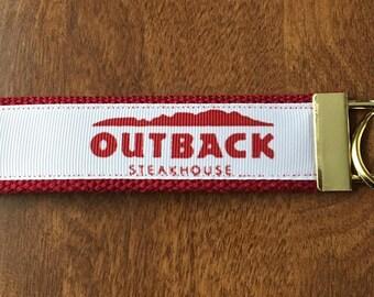 Outback Key Chain Wristlet Zipper Pull