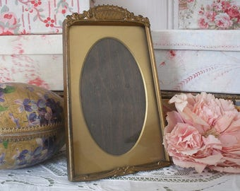 Antique art nouveau photo frame