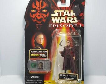 Star Wars Episode 1 Queen Amidala Action Figure - Hasbro 1998