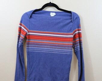 1990's Calvin Klein Boat Neck Sweater Top (S)
