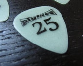 PIGFACE 25th anniversary custom guitar picks- glow in the dark!