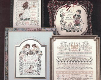 Stoney Creek No 101 - Words of Promise - 1992 Cross Stitch Pattern (A8)