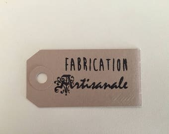 Kraft tags with eyelet and string for craft creations