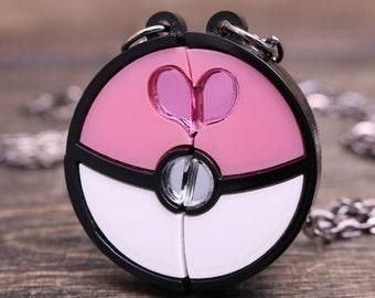 LoveBall Necklace Friendship Custom Engraving Available