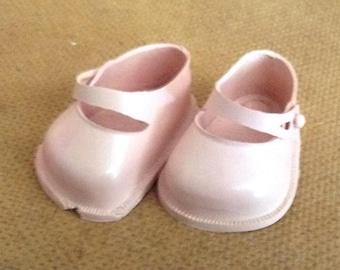 Vintage Fairyland Doll Shoes Pink