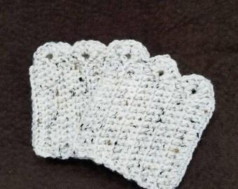 Crochet Scalloped Boot Cuffs