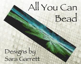 Peyote Bracelet Pattern 2001 Bead Weaving INSTANT DOWNLOAD PDF Even Count