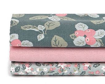 Out of Town - Quarter Fabric Pack 3 Fabric 1set - Sets for 3 each 45 X 55 cm