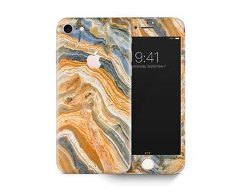 Agate marble 06 skin decal vinyl 3M quality iPhone 4 5 6 7 Samsung Galaxy S4 5 6 7 Galaxy Note