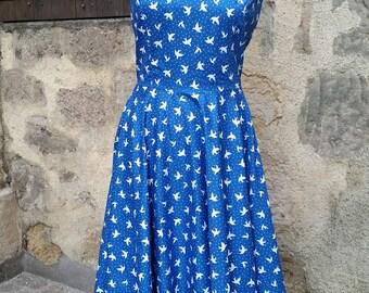 1950s full swing dress