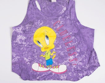 Vintage Tweety Bird Looney Tunes 90s Tank Top