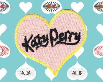 Katy Perry Heart Patch (Free Shipping)