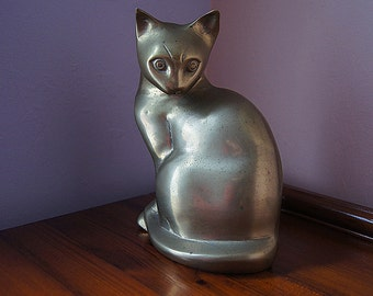 Vintage Brass Cat.