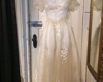 1930's silk dress