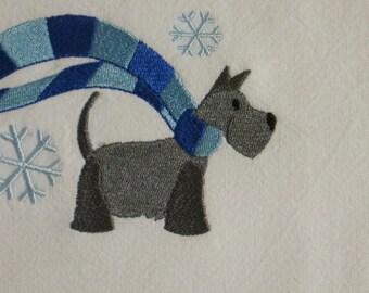 Scottish Terrier Towel