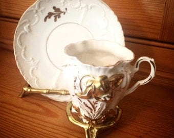 Vintage Tea Cup with Stand
