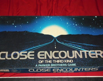 Vintage 1978 Close Encounters of the Third Kind Game - Parker Brothers