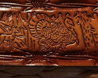 Personalized Leather Belt / Turkey / Deer / Squirrel