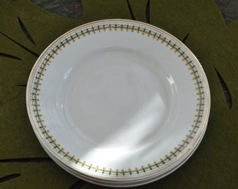 7 vintage Limoges plates - I suspect they were restaurant/hotel ware.  A nice compliment to existing dishes or add on to a collection.