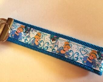 Disney Cinderella Key Chain Wristlet