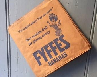 Fyffes Banana Paper Bags