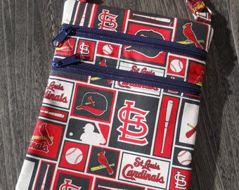 St Louis Cardinals Logo Crossbody Bag