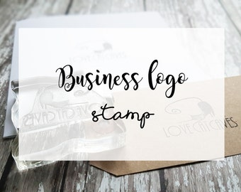 Business Stamp / Custom Stamp / Custom Logo Stamp/ Custom Rubber Stamp / Business Branding / Custom rubber stamp