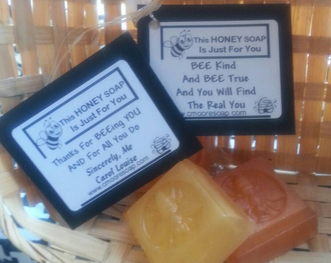 Honey Bee Soap Favors,  Wedding Favors, Anniversary Favors, Baby Shower Favors, Bridal Shower Favors, Birthday Favors, Inspirational Favors