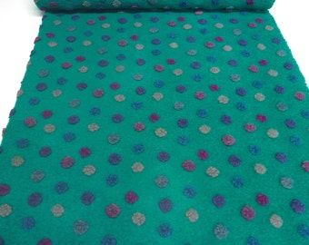 Fabric. Musterwalk walk relief Brogan 4 points emerald pink petrol grey - BN-10-1073