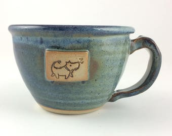 Cute Terrier Dog Chili Mug