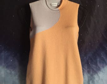 TSE Surface Two Tone 100% Cashmere | Size Small