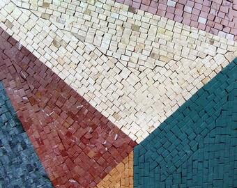 Brickwork - Abstract Mosaic art