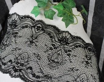 Lace,black lace, elastic lace, Dessous lace,lace ribbon,french lace