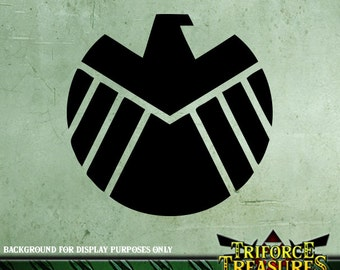 Marvel Agents Of Shield Sticker / Decal