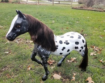Hand-painted Our Generation / Battat Appaloosa Horse