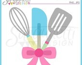 60% OFF Kitchen Utensils Clipart Single Commercial Use License Included