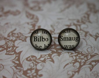 Bilbo ~ Smaug Earrings ~ The Hobbit ~