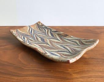 Ed Thompson Pottery Tray - San Diego Ceramic Artist
