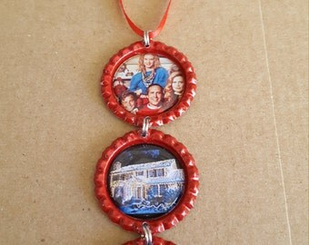 National Lampoon Christmas Vacation Bottle Cap Ornament