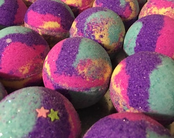 Fairy Dust Bath Bombs Bath Vegan Bath Bomb Natural Bath Fizzy