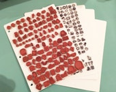stamp storage boards, clear stamps storage, cling stamp storage *boards only, stamps not included.