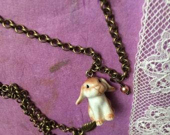 Sugar sweet rabbit necklace